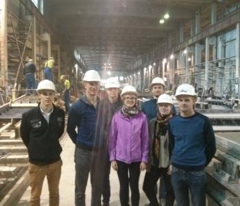 Taloti raudbetoonelementide tehase külastus