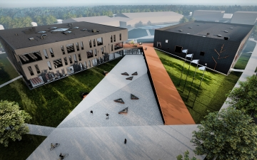 Laagri riigigümnaasiumi ja Spordihoone põhiprojekt