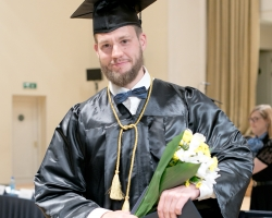 Palju õnne, kahekordne magister Tõnis!